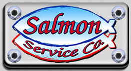 Salmon Service Company logo for the Tulsa area.